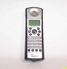 slvr/blk Uniden remote Handset Tru5865-2 cordless tele phone power max 5.8ghz
