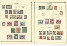 Pakistan Collection 1949 to 1963 on 12 Scott International Pages