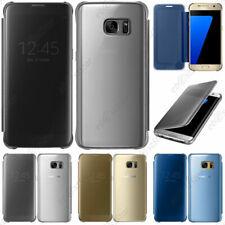 ebestStar Housse Coque Etui Flip type Clear View Samsung Galaxy S6 S7 Edge Plus