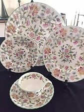 Minton Haddon Hall Bone China 5 piece place setting - Final Reduction!