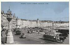 Isle of Man Postcard - Peveril Clock & Front - Douglas  B625