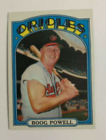 1972 Topps Boog Powell # 250 Baseball Card Baltimore Orioles
