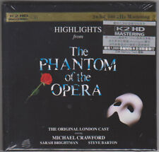 """Highlights from The Phantom of the Opera"" Japan K2HD CD New Sarah Brightman"
