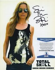 SHERI MOON ZOMBIE SIGNED PHOTO HOUSE OF 1000 CORPSES 3 FROM HELL BAS BECKETT COA