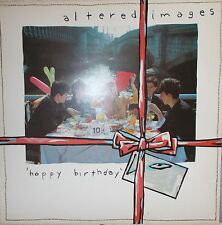 LP Altered Images Happy Birthday ,VG+ Epic 84893 ,OIS  Holland Press.   von 1981