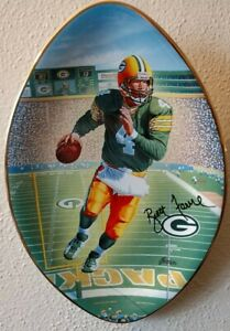 Green Bay Packers Brett Farve The Bradford Exchange Plate 3 DEGREES TO VICTORY