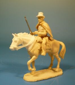 Lineol - Wild West Cowboy zu Pferd - 75mm Figur Bausatz - Resin Kit 1:24