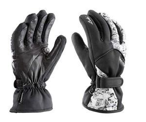 Leki Ski-Handschuhe Damen Schwarz Weiß Gore-Tex Butterfly S Trigger S UVP99,90€
