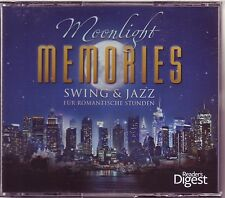 Moonlight Memories-swing & jazz-READER 'S DIGEST 4 CD BOX OVP