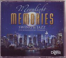 Moonlight Memories-Swing & JAZZ-READER 'S DIGEST 4 CD box