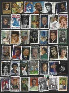 US USED FAMOUS PEOPLE SELECTION OFF PAPER SOUND