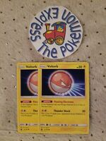 Pokémon TCG x4 Pokemon Voltorb #47/168 Mint Celestial Storm English Lightning