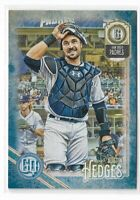 2018 Topps Gypsy Queen Baseball Indigo Parallel #119 Austin Hedges /250