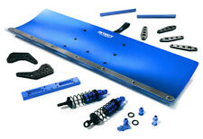C29091BLUE R/C Alloy Machined 550mm Snowplow Kit for Losi 1/5 Desert Buggy XL-E