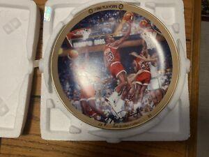 Michael Jordan Collection Plate : 1986 Playoffs. The Bradford Exchange