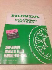 Honda GL1500 K Goldwing GL 1500 suplemento revisión moto technique