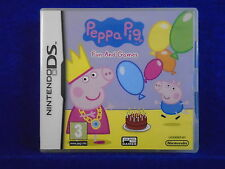 ds PEPPA PIG Fun and Games Encourages Child Development Lite DSi Nintendo PAL
