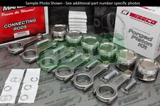 Wiseco HD Pistons Manley H Tuff H-Beam Rods for Supra 2JZ-GTE 86.25mm 9.56:1