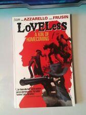 Loveless Vol 1 A Kin Of Homecoming Azzarello Frusin Vertigo