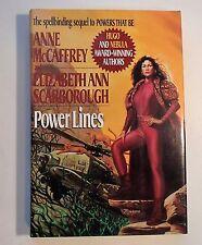 Power Lines by Elizabeth Ann Scarborough and Anne McCaffrey (1994, HC/DJ) 1st Ed