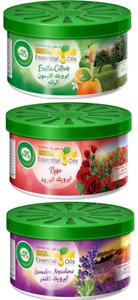 Air Wick Essential Oils Gel Air Freshener - 12 x 70g - Citrus, Lavender & Rose