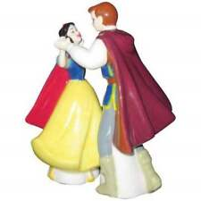 DISNEY SNOW WHITE AND THE PRINCE DANCE SALT AND PEPPER MAGNETIC SHAKERS BNIB