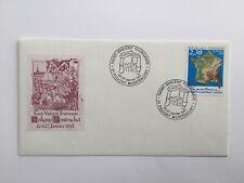 Enveloppe Saint Vincent Tournante Puligny Montrachet 1991. YT 2662 oblitéré