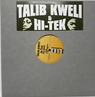 "Talib Kweli & Hi-Tek The Blast Vinyl Record 12"" Single - Old School Hip Hop - EX"