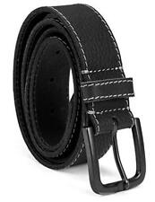 Timberland 40mm Oily Milled Urban Casual Genuine Leather Black Belt B75451/08