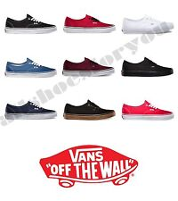 VANS CLASSIC AUTHENTIC NEW  All Sizes 4.5-10  Canvas  Free Fast Shipping