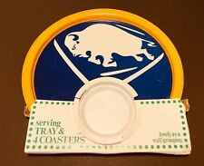 1974 Buffalo Sabres Serving Tray Original Package Vintage Hockey Rare NHL Dish