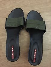 PRADA slip on Sandals size 7 or 37