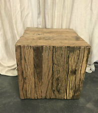 NEW Rustic table with wheels