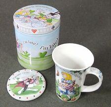 Paul Cardew Alice In Wonderland Cafe 12 Oz Mug Cup Coaster & Tin New In Tin