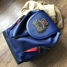 Christian Louboutin, Explorafunk Backpack Leather Navy Used Once RRP £1850