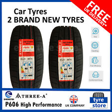 2 X New 205 55 16 THREE-A P606 91W 2055516 205/55R16 *C/B RATED* (2 TYRES)
