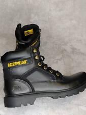 Caterpillar CAT Black Leather Stickshift Boots