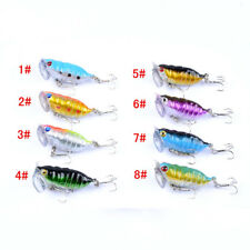8x Hard Cicada Fishing Lure Topwater Popper Freshwater Bream Bass Cod Tackle