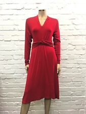 PURE Collection Stunning Poppy Red Jersey Dress UK 14 New W Tags