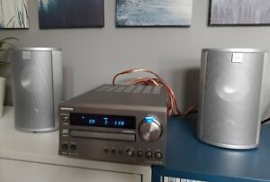 Onkyo CD Receiver CR-715 und Canton CD Lautsprecher High-End Mini Set