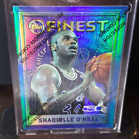 1995-96 Topps Finest Shaquille Oneal Refractor Shaq Rare Magic Lakers HOF