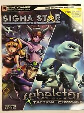 SIGMA Star Saga/Rebelstar Tactical Command (2005, Paperback)