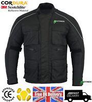 Motorbike Motorcycle Jacket Waterproof Textile Biker Armoured CE Cordura Motrox