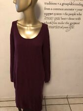 Magaschoni Cashmere Sweater Dress Long Sleeve Size L