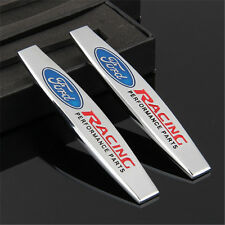 2 × Emblem Badge Decal Trunk Rear for RS FORD Mustang ST Focus Cobra Wolf E01