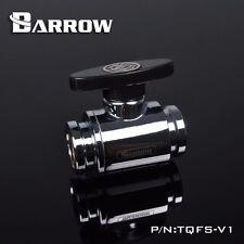 Barrow TQFS-V1 G 1/4 BALL VALVE  F-F cooper chrome water cooling system