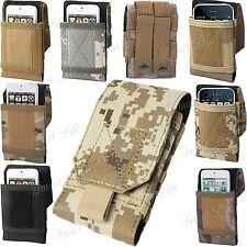 Ejército Universal Camuflaje Bolsa Cinturón Bucle Gancho Funda Para LG Teléfono