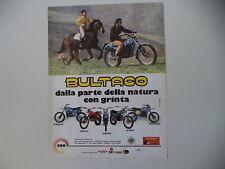 advertising Pubblicità 1979 MOTO BULTACO PURSANG/SHERPA/ALPINA/FRONTERA