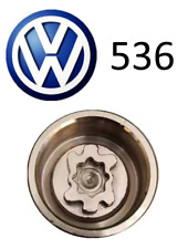 VW New Locking Wheel Nut Key Letter S, Code 536 with 17mm Hex
