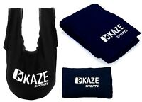 KAZE SPORTS Bowling Ball Accessory Gift Set SeeSaw Grip Sack Microfiber Towel